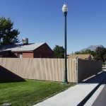 Chain Link Fence In Salt Lake City Utah United Fence