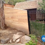 Wood Fence In Salt Lake City Utah United Fence Company