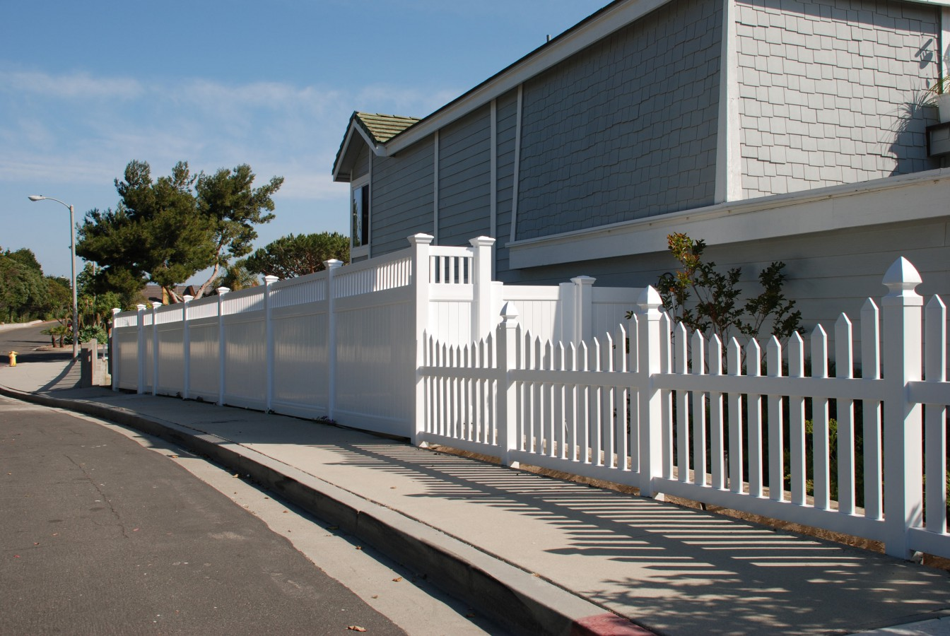 Vinyl fencing in salt lake city utah united fence company
